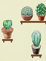 baratos -Autocolantes de Parede Decorativos - Autocolantes de Aviões para Parede Floral / Botânico Sala de Estar