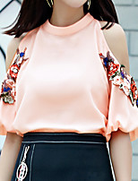 cheap -women's blouse - floral stand
