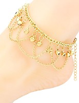 cheap -Anklet - Bohemian, Fashion, Statement Gold For Holiday / Festival / Women's