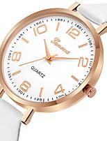 Недорогие -Geneva Жен. Нарядные часы / Наручные часы Китайский Новый дизайн / Повседневные часы / Cool Кожа Группа На каждый день / Мода Черный /