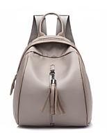 cheap -Women's Bags Faux Leather / PU(Polyurethane) Backpack Zipper Khaki
