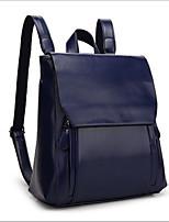 cheap -Women's Bags Cowhide School Bag Zipper Black / Dark Green / Wine