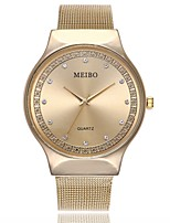cheap -Men's / Women's Dress Watch / Wrist Watch Chinese Casual Watch / Imitation Diamond Alloy Band Casual / Fashion Silver / Gold / Rose Gold