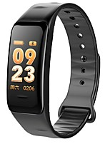 cheap -Smart Bracelet C1S for iOS / Android Touch Screen / Creative / Waterproof Pedometer / Activity Tracker / Sleep Tracker