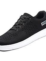 preiswerte -Herrn Satin Sommer Komfort Sneakers Grau / Rot / Blau