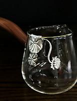 Недорогие -стекло Heatproof 1шт Чайные чашки