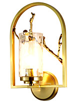 cheap -ZHISHU Mini Style / New Design Tiffany / Simple Wall Lamps & Sconces Living Room / Bedroom / Dining Room Metal Wall Light 110-120V / 220-240V 5 W