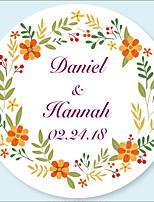 economico -Matrimonio Adesivi, etichette e Tag - 48 pcs Circolare Adesivi / Busta Sticker Per tutte le stagioni