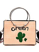 economico -Per donna Sacchetti PU Borsa a tracolla Cerniera Verde / Rosso