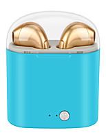 abordables -Apple I7S TWS EARBUD Bluetooth 4.2 Ecouteurs Ecouteur Plastique / Carcasse de plastique Conduite Écouteur Design nouveau / Stereo / Avec