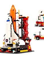 cheap -Building Blocks 679 pcs Plane / Aircraft / The Shuttle Launch Center Creative Gift