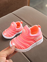 cheap -Girls' Shoes Cotton Spring / Fall Comfort Sneakers for Baby Blue / Pink / Light Pink