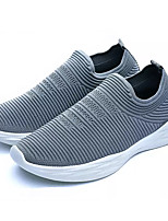 cheap -Men's Light Soles Elastic Fabric Spring / Fall Light Soles Sneakers Black / Gray / Red