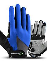 abordables -ROCKBROS Doigt complet Unisexe Gants de moto Tissu Ecran tactile / Respirable