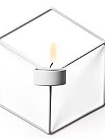 Недорогие -Модерн Железо Подсвечники На одну свечу 1шт, Свеча / подсвечник