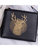 cheap -Men's Bags PU(Polyurethane) Wallet Pattern / Print Gold / Silver