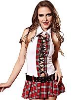 cheap -Women's Babydoll & Slips / Gartered Lingerie / Garters & Suspenders Nightwear - Bow, Plaid