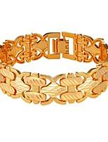 abordables -Homme Corde Chaînes & Bracelets - Mode Bracelet Or / Argent Pour Cadeau / Quotidien