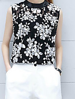 cheap -Women's Vintage / Street chic T-shirt - Floral Print