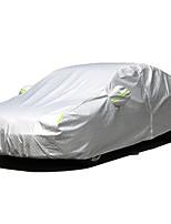 economico -Coppa larga Coperture per auto Tessuto Oxford / Pellicola di alluminio Riflessivo / Barra di avviso For Mercedes-Benz GLC300 Tutti gli anni For Per tutte le stagioni