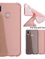 cheap -Case For Huawei P20 Pro / P20 lite Shockproof / Transparent Back Cover Solid Colored Soft TPU for Huawei P20 / Huawei P20 Pro / Huawei P20 lite / P10 Lite