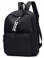 cheap -Men's Bags Nylon School Bag Zipper Black