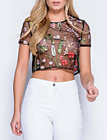 cheap -Women's Going out T-shirt - Floral
