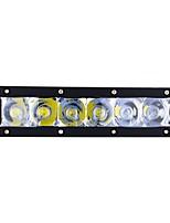 cheap -exLED 2pcs Car Light Bulbs 30 W 3000 lm 6 LED Daytime Running Light / Exterior Lights For universal