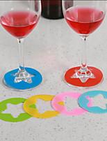 economico -Bicchieri / Cristalleria / Utensili bar e vino Plastica, Vino Accessori Alta qualità Creativo for Bicchieri Conveniente 6pcs