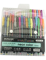 cheap -Gel Pen Pen Pen, Plastics Multi-Color Ink Colors For School Supplies Office Supplies Pack of 36 pcs