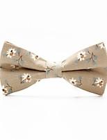 economico -Per uomo Con fiocco, Vintage / Da serata Papillon Fantasia floreale / Jacquard