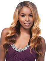 cheap -Synthetic Wig Wavy Side Part Synthetic Hair Heat Resistant / Ombre Hair Blonde Wig Women's Long Capless / Yes