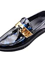 Недорогие -Муж. Полиуретан Лето Удобная обувь Туфли на шнуровке Черный / Синий