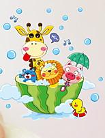 cheap -Stickers & Tapes / Bathroom Sticker New Design / Cartoon / Waterproof Distinguished / Cartoon / Modern PVC(PolyVinyl Chloride) 1pc