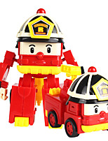 cheap -Toy Car Fire Engine Transformable Plastic Shell All Children's Gift 1 pcs