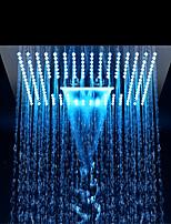 abordables -Moderne Douche pluie Chrome Fonctionnalité - Economique / LED / De Douche, Pomme de douche