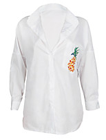cheap -Women's Basic T-shirt - Fruit Print