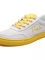 cheap -Men's Shoes Tulle / Fabric Summer Comfort Sneakers Yellow / Red / Blue