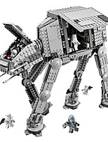 cheap -Building Blocks 1157 pcs Transpotation Armored Robot Creative Gift