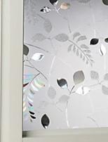 abordables -Film de fenêtre et autocollants Décoration Fleur Fleur PVC Antireflet