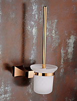 cheap -Toilet Brush Holder New Design Modern Brass 1pc - Bathroom Wall Mounted