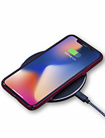 cheap -Wireless Charger USB Charger Universal Wireless Charger 1 USB Port 1 A / 1.5 A DC 9V / DC 5V for iPhone X / iPhone 8 Plus / iPhone 8