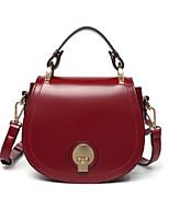 cheap -Women's Bags PU(Polyurethane) Tote Buttons Dark Green / Brown / Wine
