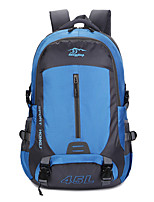 cheap -45 L Hiking Backpack - Rain-Proof, Wearable, Breathability Outdoor Hiking, Camping, Team Sports Nylon Red, Green, Blue