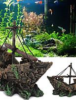 Недорогие -Оформление аквариума / Waterproof Основы / Орнаменты Компактность / Водонепроницаемость / Влажная чистка Резина