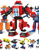 cheap -Building Blocks 1173 pcs Vehicles / Robot Transformable / Stress and Anxiety Relief / Relieves ADD, ADHD, Anxiety, Autism Gift
