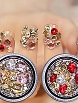 Недорогие -5 pcs Стразы для ногтей Многофункциональный / Лучшее качество Креатив маникюр Маникюр педикюр Повседневные модный / Мода