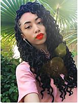 economico -Capelli intrecciati Riccio dreadlocks / Ricci intrecciati / Faux Locs Capelli sintetici 1 pezzo, 24 radici / confezione capelli Trecce Naturale 45cm Resistente al calore / Dread finti / 100% capelli