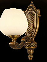 cheap -Anti-Glare Antique Wall Lamps & Sconces Living Room / Hallway Metal Wall Light 220-240V 40 W