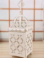 Недорогие -Модерн / Простой стиль Железо Подсвечники На одну свечу 1шт, Свеча / подсвечник